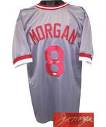 Joe Morgan signed Gray TB Custom Stitched Baseball Jersey XL- JSA Witnes... - $148.95