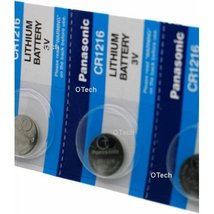 Maxell CR1216 3V Micro Lithium Button Coin Cell Battery 5 Pack - $4.74