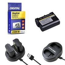 EN EL15 Battery + Charger for Nikon DSLR D7200-D7100-D7000-D810-D800-D750-D610 - $17.99