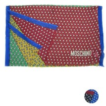 Unisex Scarf wool MOSCHINO Abstract 0491 - £48.37 GBP