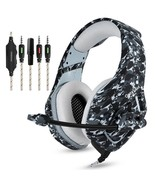 Camouflage PS4 Headset Stereo Gaming Headphones With Mic For New Xbox On... - $46.99