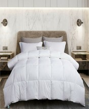 Martha Stewart Goose Feather and Down White King Comforter T4102186 - $83.74