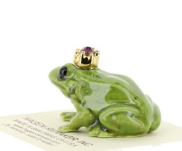 Birthstone Frog Prince February Simulated Amethyst Miniatures by Hagen-Renaker image 2
