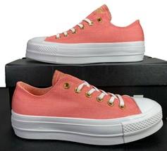 Converse Chuck Taylor All Star Lift Platform Ox Sneaker Pink 560675C 7.5 Women - $69.95