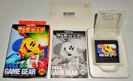 Pac-Man (Sega Game Gear, 1991) COMPLETE in box mint CIB MIB Pacman Namco - $22.07