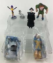 The Hunchback Of Notre Dame Toy Figures 6pc Lot Quasimodo Disney Burger King - $13.32