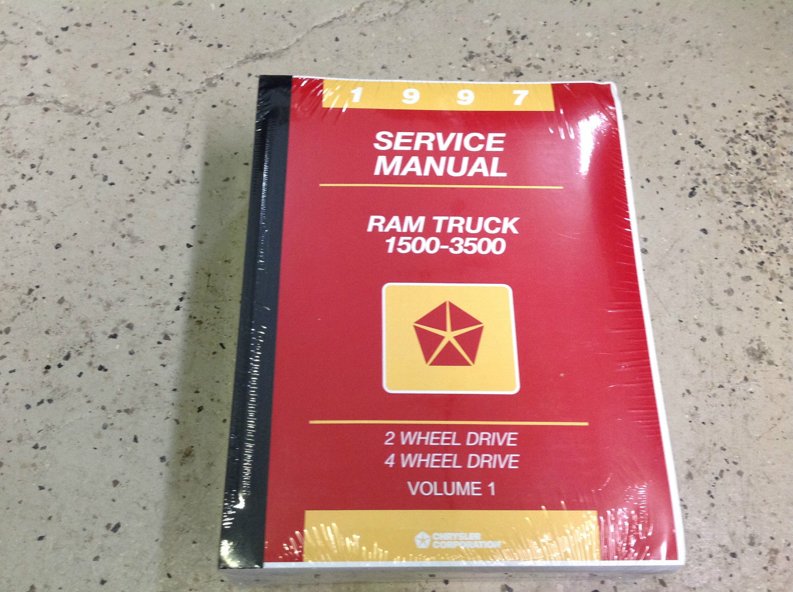 Primary image for 1997 Dodge Ram Truck 1500 2500 3500 Service Shop Repair Manual NEW FACTORY 97