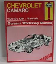 Haynes Repair Manual Chevrolet Camaro 1982-1987 - $16.44