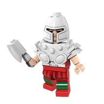 1 Pcs Super Hero Figure Ram Man With Weapon Fit Lego Building Block Mini... - $6.99