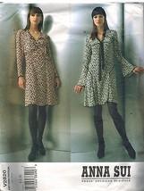 2820 non Découpé Vogue Patron de Couture Femmes Anna Sui Coupe Moulante un - $24.98