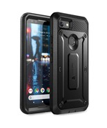 Pixel 3a Unicorn Beetle Pro Rugged Holster Case (Black) - $13.99