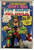 OUR ARMY AT WAR #167-SGT. ROCK-COOL ISSUE G - $14.55