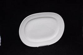 "Homer Laughlin Platter Ivory Oval 13-3/4"" - $19.11"