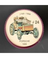 1899 PORSCHE Jell-O Picture Wheel #24 - $5.00