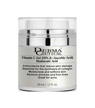 Vitamin C GEL (L-Ascorbic Acid) 20% with Pure Hyaluronic Acid – DermaCeutical - $19.00+