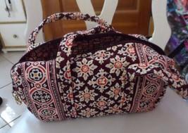 Vera Bradley small duffel style handbag in retired Medallion - $26.50