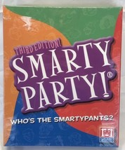 2008 Smarty Party 3rd Edition Board Game R&R Games New Sealed - $19.59