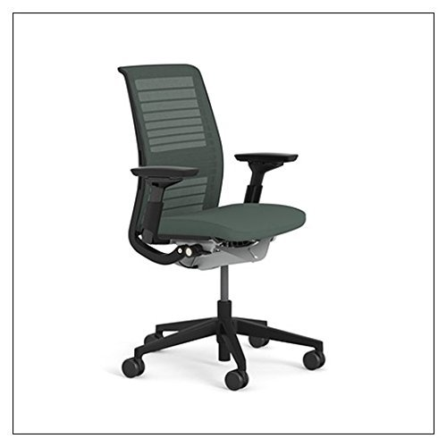 Steelcase Think Chair (R) - 3D Knit Back by Steelcase, 3D Knit Color = Graphite; - $764.00