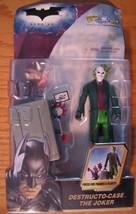 Batman Dark Knight DESTRUCTO-CASE THE JOKER ACTION FIGURE TOY Dc Comics NEW - $15.35