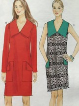 Vogue Sewing Pattern Very Easy Vogue 9147 Misses Dress Size 6-14 New - $16.77