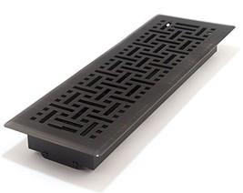 Accord AMFRRBB414 Floor Register with Wicker Design, 4-Inch x 14-InchDuc... - $35.34