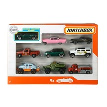 Matchbox X7111 Police Sheriff Trucks & Fire Fighter Car Toys - 9 Pieces - $17.81