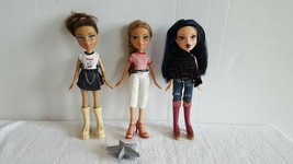 Lot of Beautiful Bratz Girl Dolls with Clothes and Shoes Excellent Condi... - $29.99