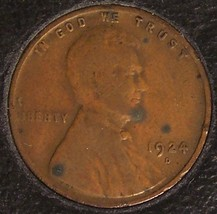 1924-D Lincoln Wheat Back Penny VG #090 - $34.99