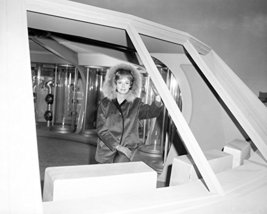 June Lockhart in Lost in Space rare on tv set pose looking out of Jupiter16x20 C - $69.99