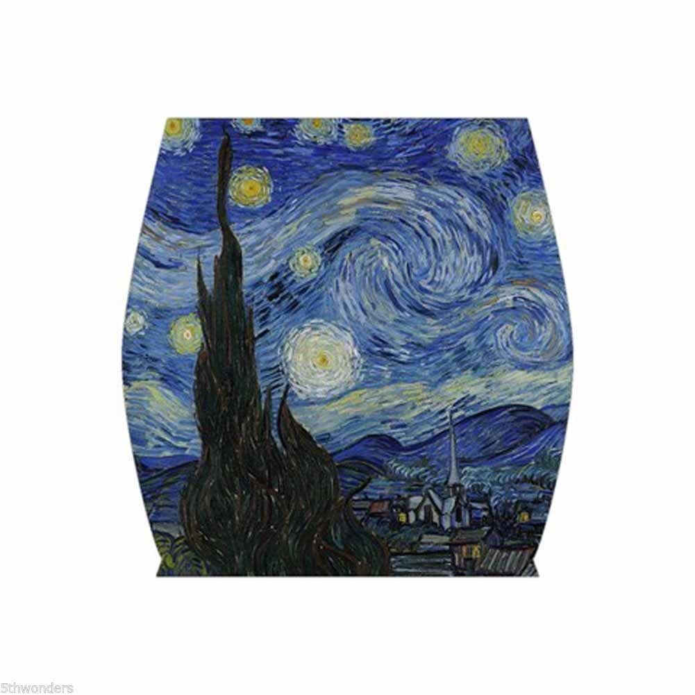 VINCENT VAN GOGH STARRY NIGHT Bodycon Skirt XS S M L XL XXL XXXL