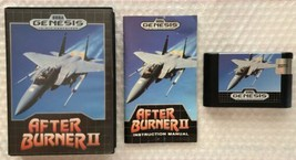 ☆ After Burner II 2 (Sega Genesis 1990) AUTHENTIC Complete in Case Game ... - $24.99