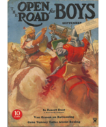 THE OPEN ROAD FOR BOYS - September 1934 - BUCK ROGERS, KNIGHTS & CRUSADE... - $29.99