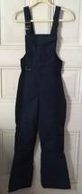 Vtg Eddie Bauer Blue Insulated Bib Ski Pants Small - $39.95