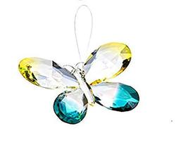 Ganz Colorful 5 Inch Butterfly Ornament/Sun-catcher (Yellow/Turquoise) - $14.99
