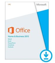 Microsoft Office Home and Business 2013 - License - 32/64 Bit - $29.99