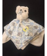 New Blankets and Beyond Blue White Owl Security Blanket Nunu Lovey NEW! - $28.01