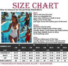 Fashion Womens One-piece Swimsuit Swimwear Push Up Monokini Bathing Suit Bikini image 12