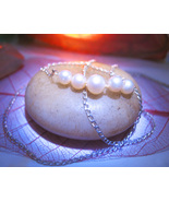 Haunted Necklace 3X RESILIENCE STRENGTH HEALING MAGICK 925 PEARL WITCH C... - $21.00