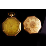 Antique Pocket watch -vintage 15 jewel - TACY Watch co - ADMIRAL gold fi... - $225.00