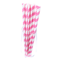 (rose red stripe)25pcs Europe And American Birthday Party Wedding Dispos... - $14.00