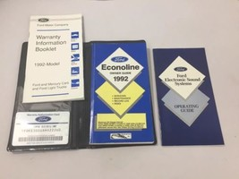 1992 Ford Econoline Van Owner's Manual Guide , 363 Pages - $10.39