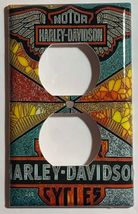 Harley-Davidson MotorCycles Light Switch Outlet Wall Cover Plate Home decor image 14