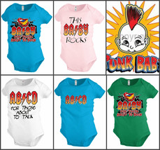 Funny Baby shirt Bodysuit Infant toddler  Rock Punk AB CD Shower party Gift - $12.99