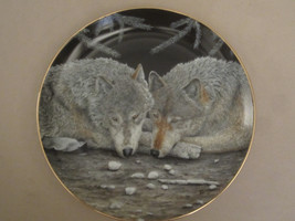 WOLF collector plate SERENITY Eric Renk ETERNAL UNITY Danbury Mint WOLVES - $15.00