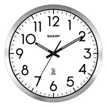 """Atomic Analog Wall Clock - 14"""" - Sets Automatically - $38.61"""