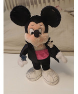 """Vintage APPLAUSE Mickey Mouse in Tuxedo Plush Toy Doll 18"""" 1987 w Tag Rare - $15.17"""