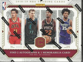 2018-19 PANINI CORNERSTONES BASKETBALL FACTORY SEALED HOBBY BOX - $544.50