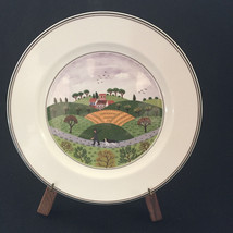 "Villeroy & Boch Design Naif 8"" Salad Hunter And Dog Plate - $21.78"
