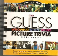 Guess Who What When & Where Picture Trivia Book Series: Movie Edition Cutler, Da - $10.50