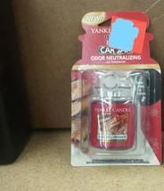 YANKEE CANDLE ULTIMATE CAR JAR Air Freshener Sparkling Cinnamon - $4.99